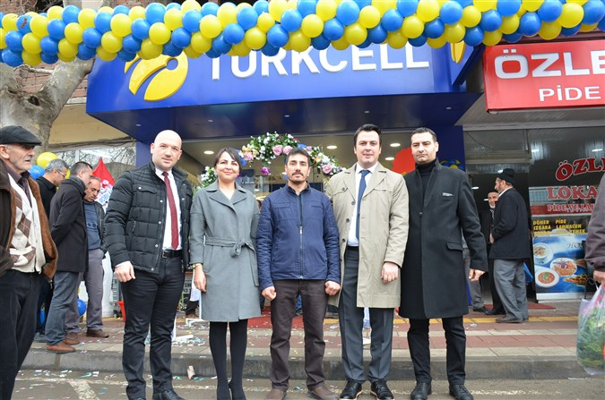 Turkcell TİM Taşova'da hizmete girdi