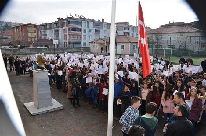 Taşova'da Karne Töreni Düzenlendi