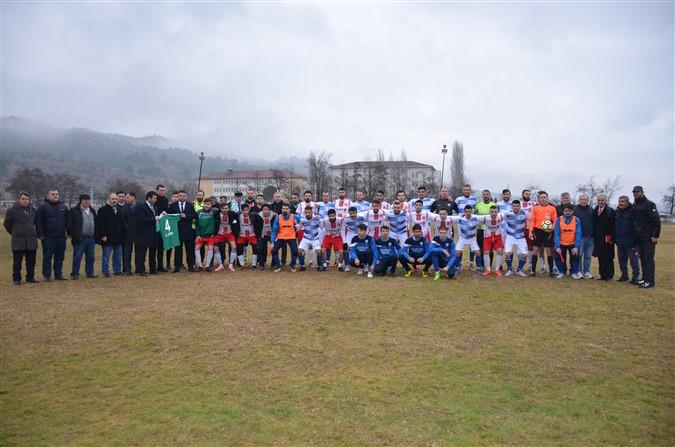 Yeni Taşova Spor -TAŞDEF Karması Maçı (4-1)
