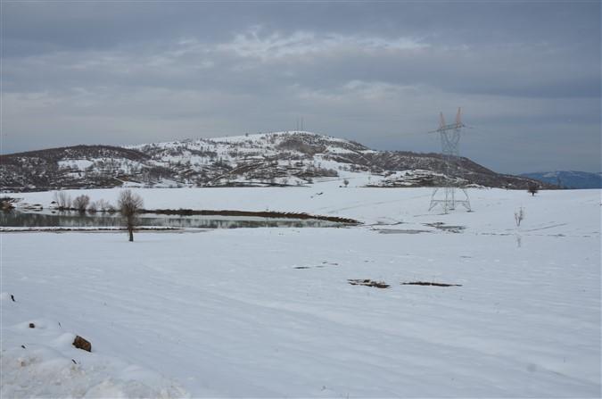 Kızgüldüren Gölünden Kış Manzaraları