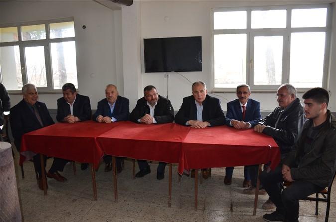 CHP'de Köy Ziyaretleri Devam Ediyor