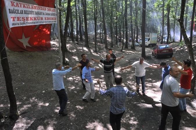 Türkmendamı Köyü Derneği 10. Geleneksel Dayanışma Pikniği Düzenledi