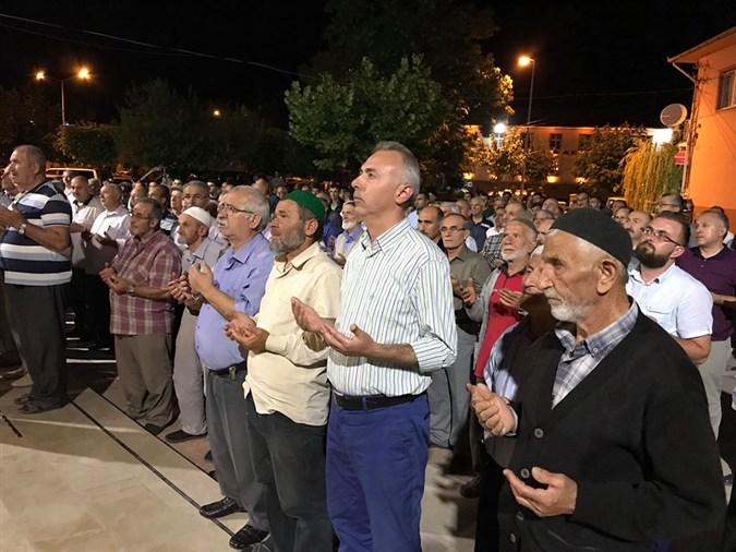 Taşova'lı Hacılar Dualarla Uğurlandı