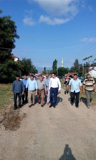 Kaymakam Altuntaş Kırkharman Köyünü Ziyaret Etti