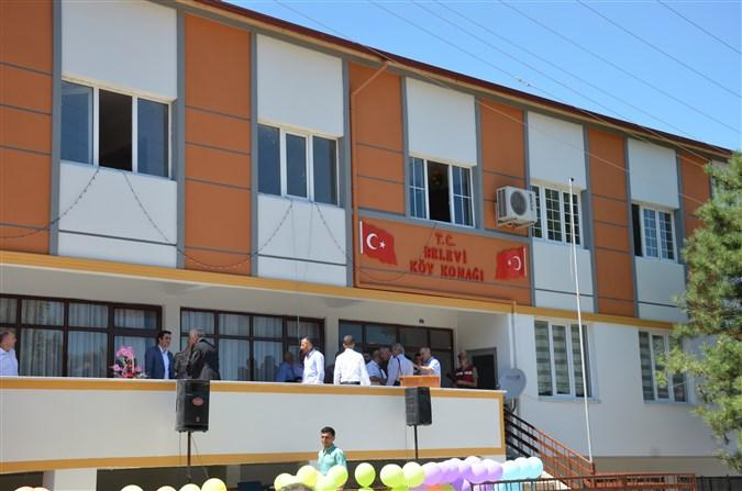 Belevi Köy Konağı Hizmete Açıldı