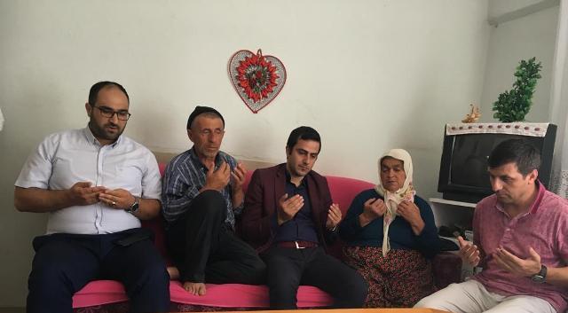 Taşova Kaymakamı Talha Altuntaş Şehit Ailelerini Ziyaret Etti