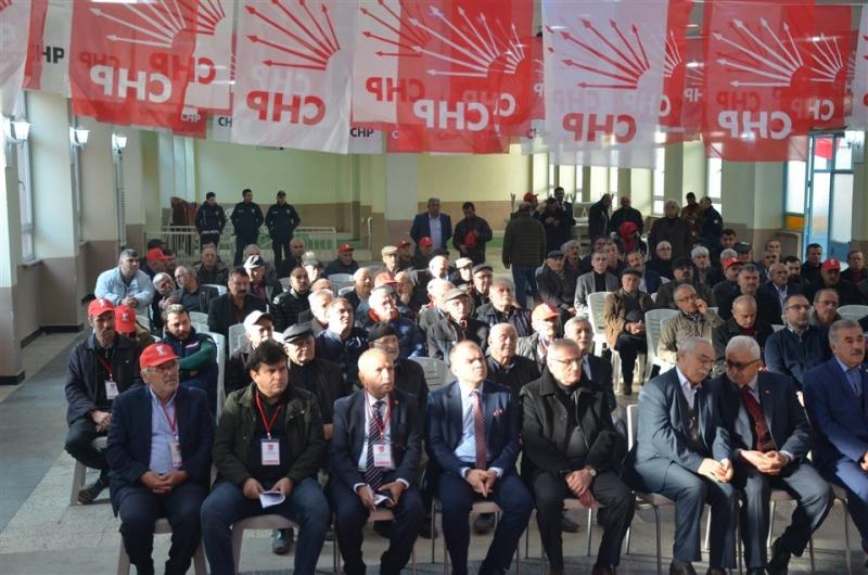 CHP Taşova İlçe Teşkilatında Olağan Kongre Gerçekleştirildi
