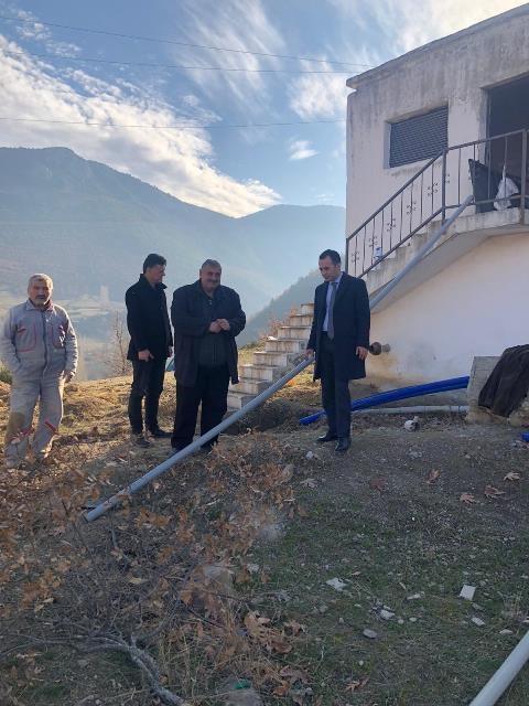 Kaymakam Çelik'ten Kurum ve Köy Ziyaretleri