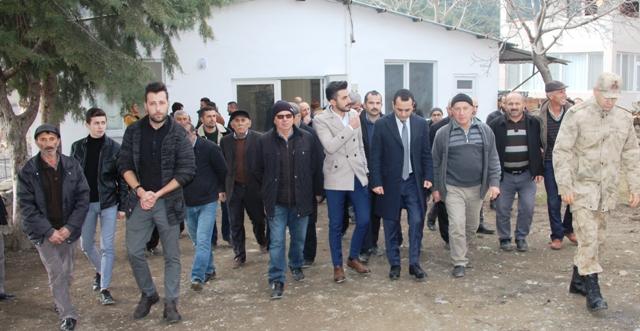 Kaymakam Çelik Köy Ziyaretlerine Devam Ediyor