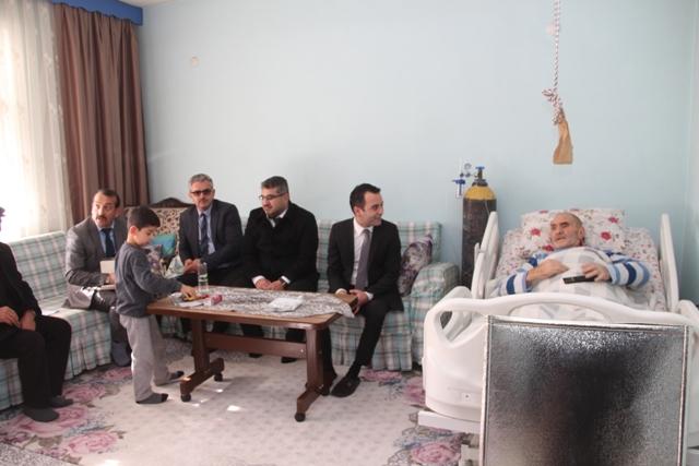 Kaymakam Çelik Alpaslan, Mercimek, Çaydibi ve Boraboy Köylerini Ziyaret Etti