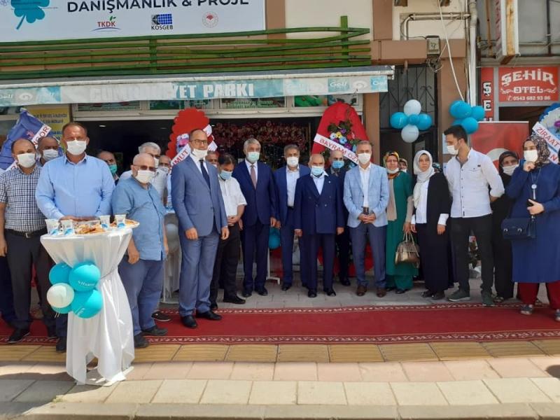 HASENE Sosyal Yardımlaşma Derneği Amasya İl Temsilciliği Taşova'da Açıldı