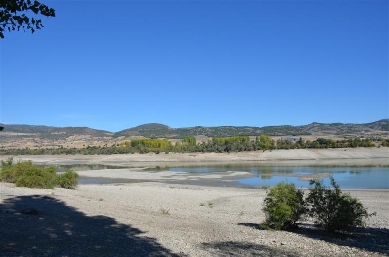 Suların Çekildiği Uluköy Barajı'nda Korkutan Görüntü