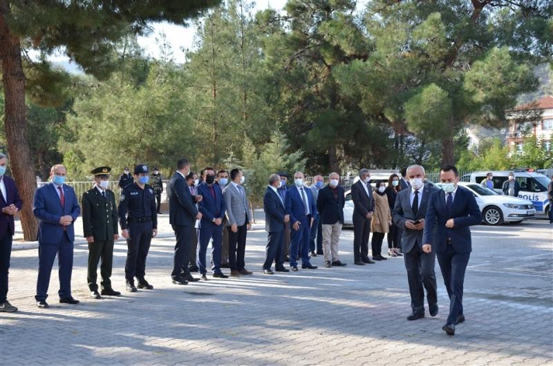 Taşova'da 29 Ekim Cumhuriyet Bayramı Tebrikat Töreni Yapıldı