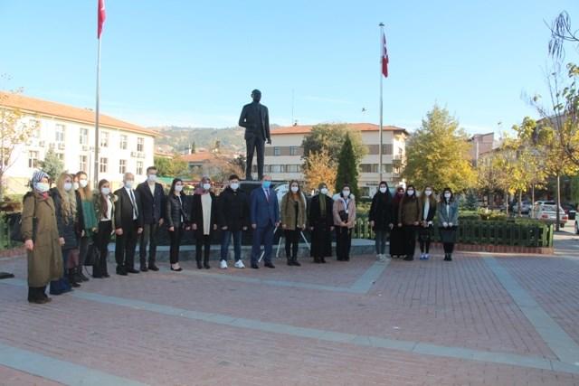 Taşova'da 24 Kasım Öğretmenler Günü Kutlandı