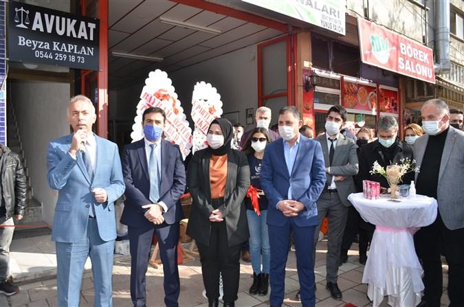 Avukat Beyza Kaplan Avukatlık Bürosu Açtı