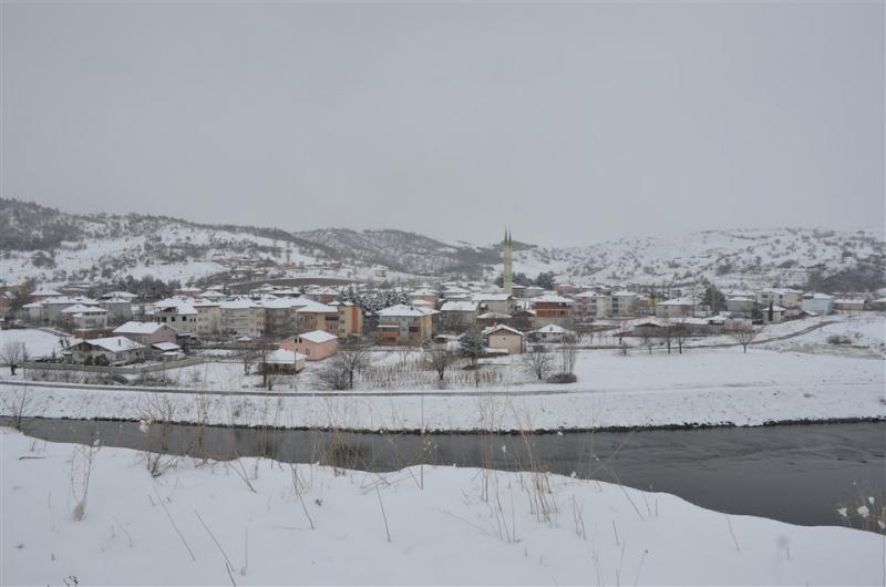 Taşova'dan Kar Manzaraları
