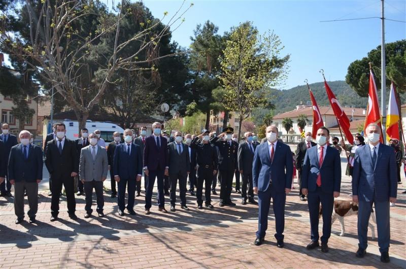Taşova'da 23 Nisan Ulusal Egemenlik ve Çocuk Bayramının 101. Yılı Kapsamında Çelenk Sunma Töreni Gerçekleştirildi