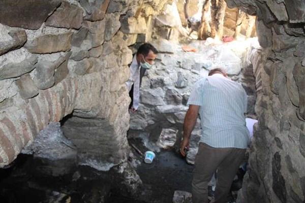 Roma dönemi Hamamına tuvalet ve çeşme yapıldı