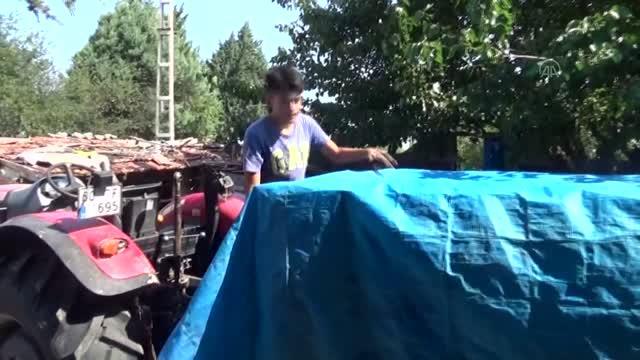 Serinlemek için Traktör'den havuz