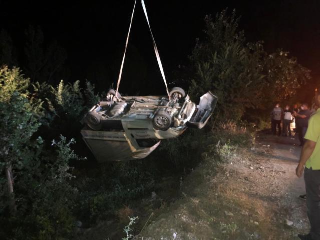 Taşova Yeşilyurt Kaza:2 yaralı