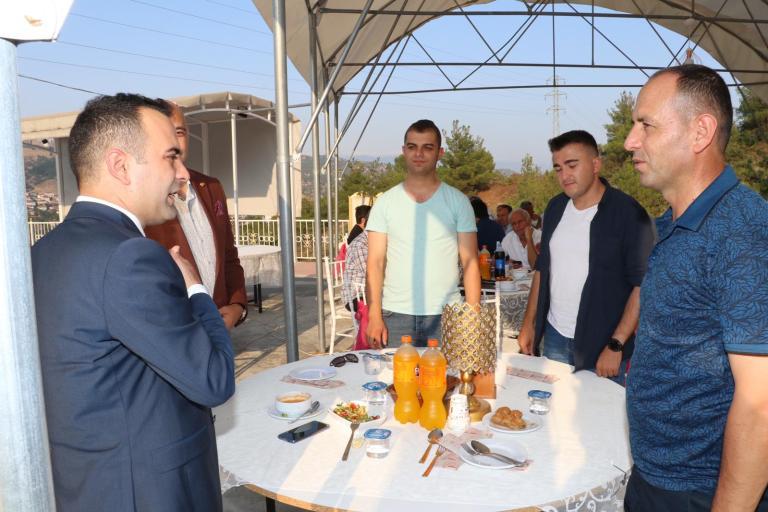 Kaymakam Mustafa Berk Çelik in Veda Yemeği