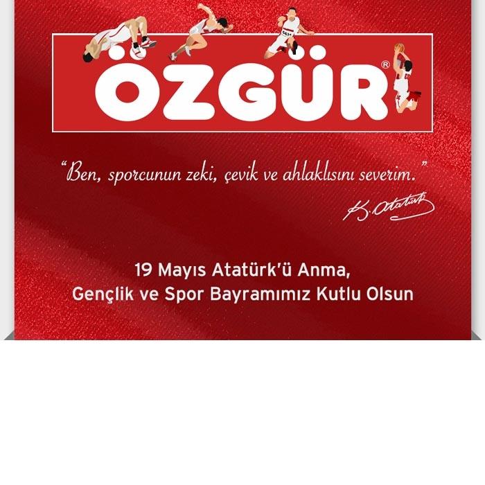 19 Mayıs Atatürk'ü anma , Gençlik ve Spor Bayramımız Kutlu olsun.