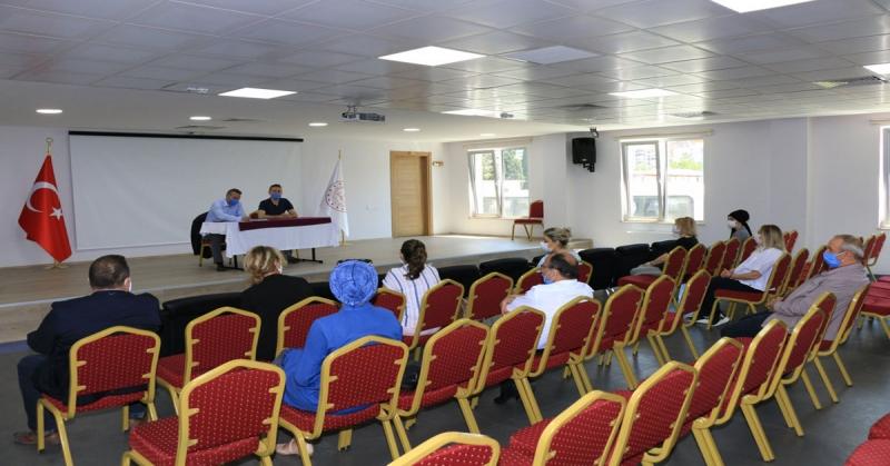 2020-2021 Eğitim Öğretim Yılı Okul Öncesi Ücret Tespit Komisyonu Toplantısı Gerçekleştirildi