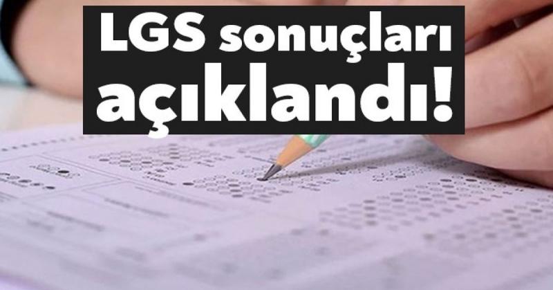 2020 LGS sonuçları Açıklandı