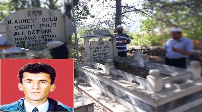 Marmara Depremi'nde şehit olan polis memuru Ali Öztürk Anıldı