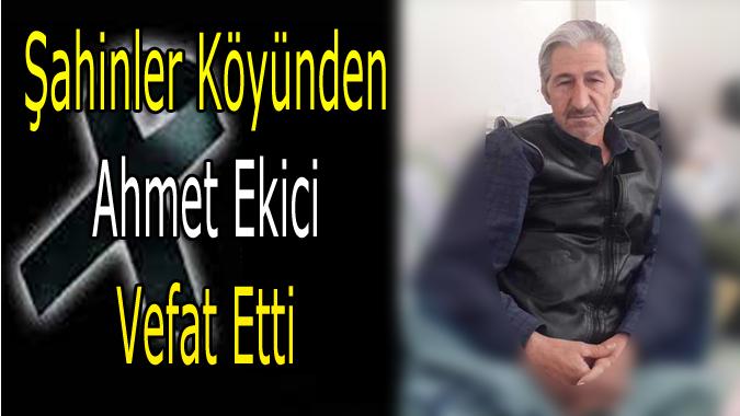 Ahmet Ekici Ailesine Başsağlığı