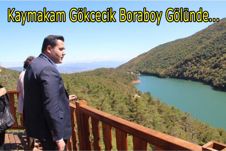 Kaymakam Gökcecik Boraboy Gölünü İnceledi