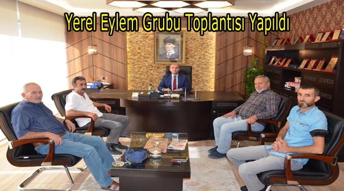 Yerel Eylem Grubu (YEG) Toplantısı Yapıldı