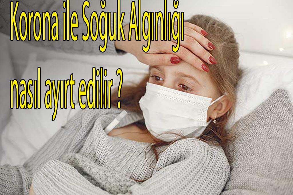 Korona ile Soğuk Algınlığı nasıl ayırt edilir ?