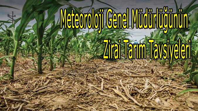 Meteoroloji Genel Müdürlüğünün Zirai Tarım Tavsiyeleri