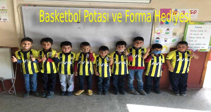 Fenerbahçe Futbol Kulübü Basketbol Potası ve Forma Hediyesi