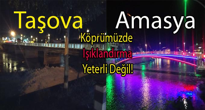 Köprü Işıklandırması yeterli değil!