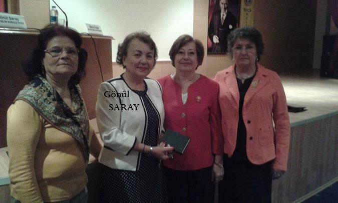 21. Dönem Amasya Millet Vekilimiz Gönül Saray'dan konferans