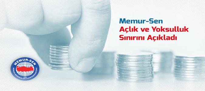 Açlık Sınırı 2 Bin 453 Lira Oldu
