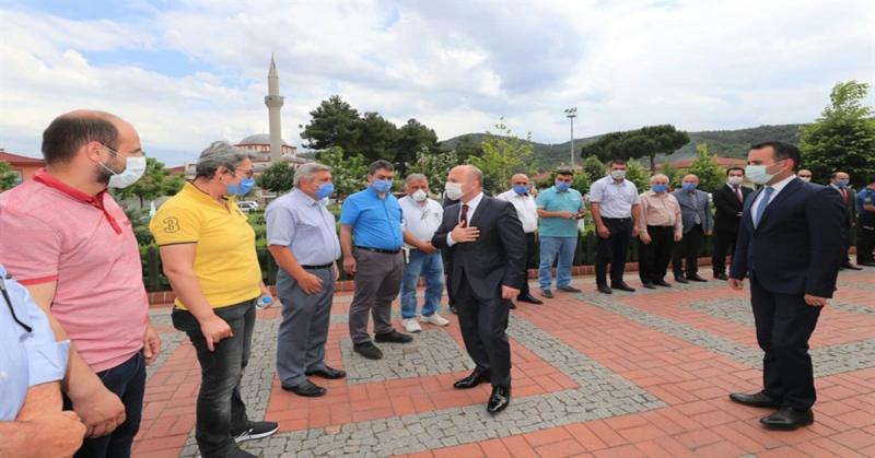 Ağrı Valisi Olarak Atanan Vali Dr. Osman Varol, Taşova İlçemize Veda Ziyaretinde Bulundu