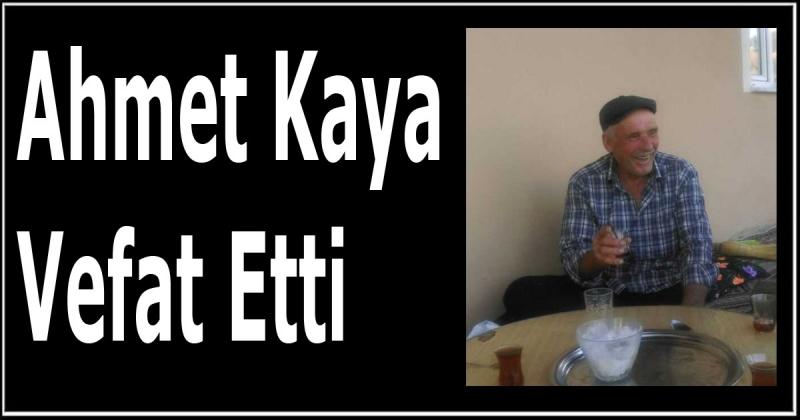 Ahmet Kaya Vefat Etti