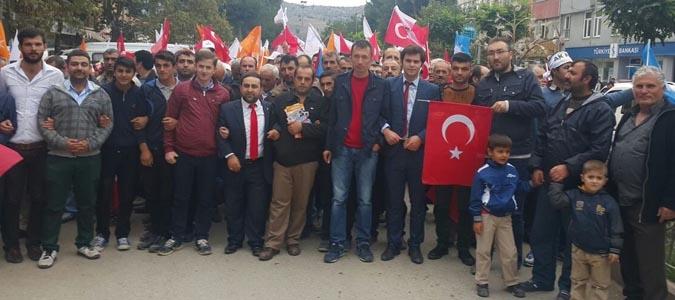 AK Parti TAŞOVA'DA MİTİNG GÜZENLEDİ
