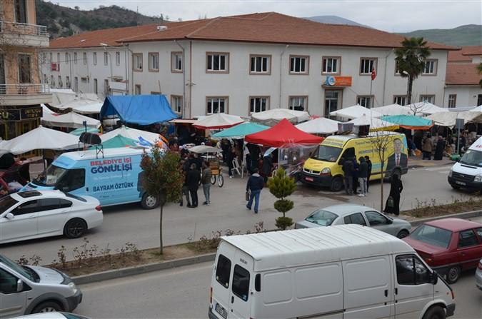 AKP ve Millet İttifakı Stant Çalışmalarına Devam Ediyor