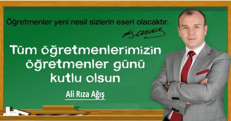 Ali Rıza Ağış - 24 Kasım Öğretmenler Günü Kutlaması