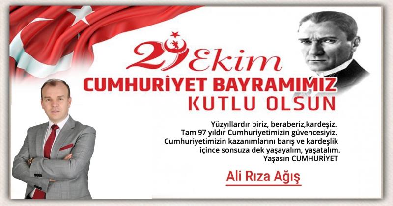 Ali Rıza Ağış - 29 Ekim Cumhuriyet Bayramı Kutlaması