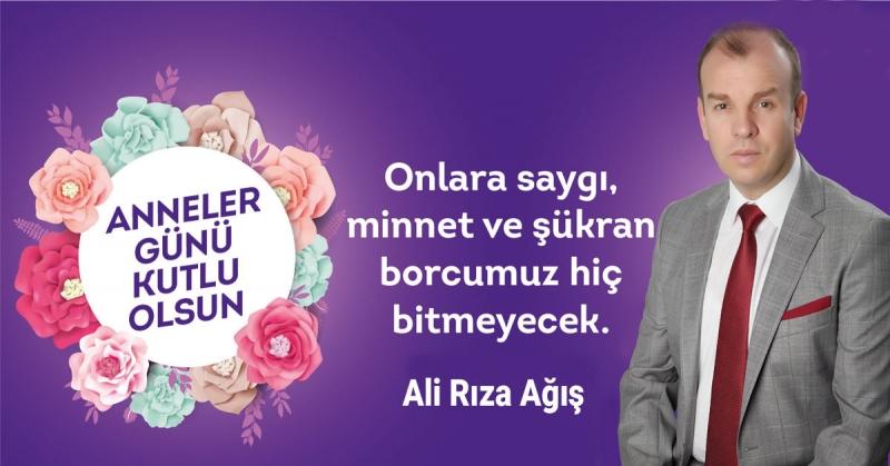 Ali Rıza Ağış - Anneler Günü Kutlaması