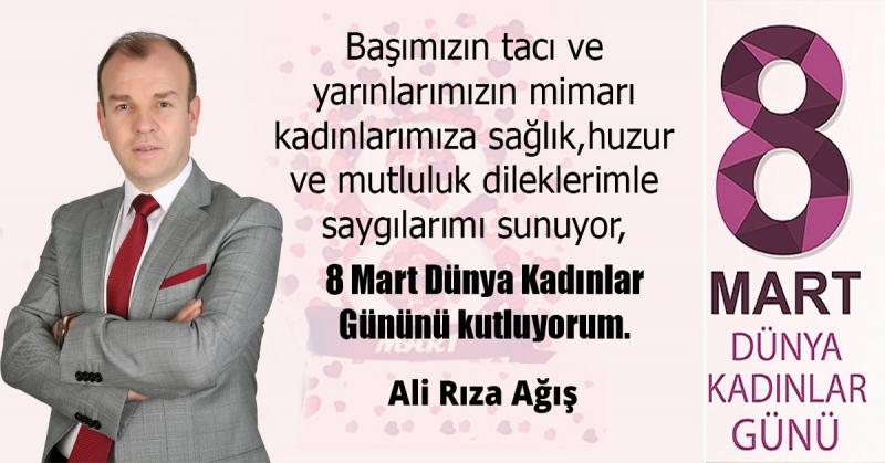 Ali Rıza Ağış - Kadınlar Günü Kutlaması