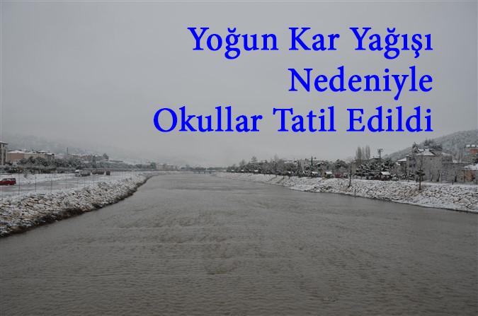 Amasya Genelindeki Tüm Okullar Tatil