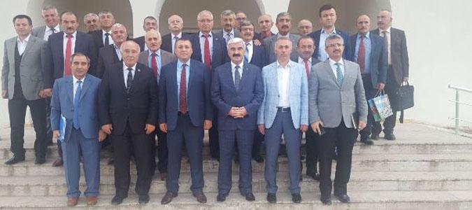 Amasya İl Genel Meclis Toplantısını Taşova'da Yaptı