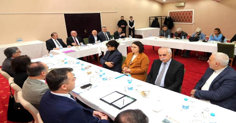 Amasya İl Özel İdaresi'nin 2020 Yılı Hedeflerine İlişkin Basın Toplantısı Düzenledi