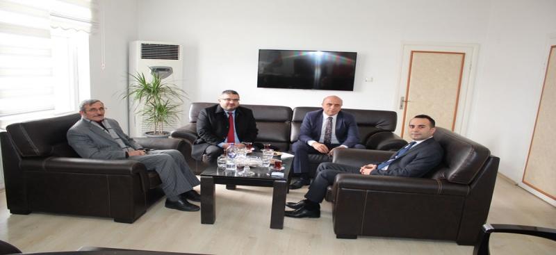 Amasya İl Özel İdare Genel Sekreteri Acar'dan,Kaymakam Çelik'e Ziyaret